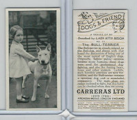 C18-40 Carreras, Dogs & Friend, 1936, #11 Bull Terrier