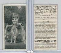 C18-40 Carreras, Dogs & Friend, 1936, #15 Pug