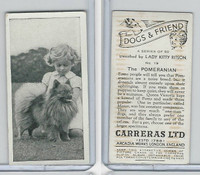 C18-40 Carreras, Dogs & Friend, 1936, #19 Pomeranian
