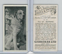 C18-40 Carreras, Dogs & Friend, 1936, #26 St. Bernard