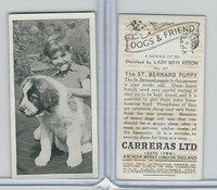 C18-40 Carreras, Dogs & Friend, 1936, #27 St. Bernard Puppy