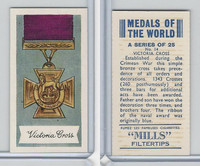 A46-32 Amalgamated, Medals Of World, 1959, #14 Victoria Cross