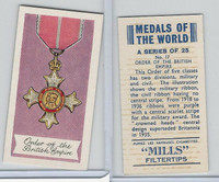 A46-32 Amalgamated, Medals Of World, 1959, #17 Order British Empire
