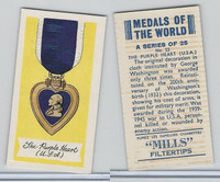 A46-32 Amalgamated, Medals Of World, 1959, #22 Purple Heart