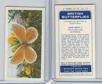 B0-0 Brooke Bond, British Butterflies, 1963, #10 Large Heath