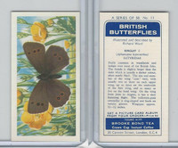 B0-0 Brooke Bond, British Butterflies, 1963, #11 RInglet