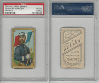 T80 Tolstoi, Military, 1911, Cavalry Officer, France, PSA 2 MC Good