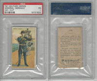 T81 Recruit, Military, 1908, Admiral Navy Germany, PSA 1