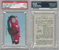 D72 Mother's Cookies, Sport Cars, 1955, #15 Allard Cadillac, PSA 9 Mint
