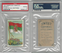 T59 American Tobacco, Flags of all Nations, 1910, Anhalt, PSA 2 Good