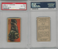 V17 Cowan's, Noted Cats, 1925, #15 Sotelo, Persian, PSA 4 VGEX