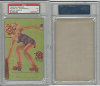 W424-2b Mutoscope, Artist Pin-Up Girls, 1945, After All, PSA 5 EX