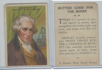 F130 Gridley Butter, Heroes Of History, 1920's, #20 James Watt, Inventor