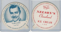F5-18 Dixie Cup, 1952, Movie Stars, Large, Clark Cable, Nelson's Ice Cream