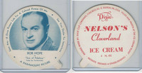 F5-18 Dixie Cup, 1952, Movie Stars, Large, Bob Hope, Nelson's Ice Cream