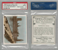 H46-96 Hill, Views of Interest, 1938, #11 Westminster Bridge, PSA 9 Mint