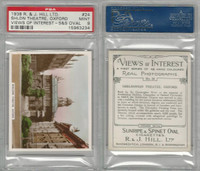 H46-96 Hill, Views of Interest, 1938, #24 Sheldon Theatre Oxford, PSA 9 Mint