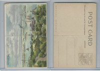 T94 Murad Tobacco, Post Card Series, 1910, Battery & New York Harbor