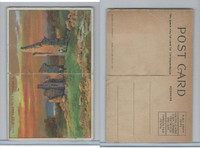 T94 Murad Tobacco, Post Card Series, 1910, Ruins Fort Ticonderoga, NY