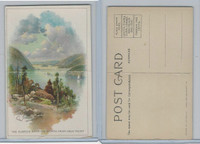 T94 Murad Tobacco, Post Card Series, 1910, The Hudson From West Point