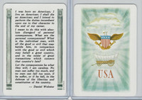 1973 US Games, American Historical Cards, Daniel Webster, Born American