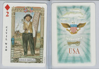 1973 US Games, American Historical Cards, Diamond 2, Horace Greeley