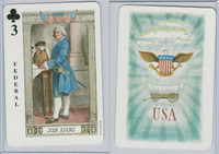 1973 US Games, American Historical Cards, Club 3, President John Adams