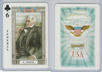 1973 US Games, American Historical Cards, Club 6, President Andrew Jackson