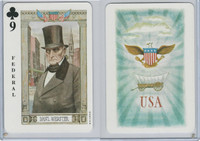 1973 US Games, American Historical Cards, Club 9, Daniel Webster