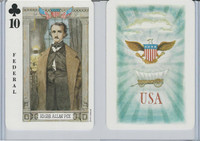 1973 US Games, American Historical Cards, Club 10, Edgar Allan Poe