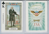 1973 US Games, American Historical Cards, Club King, Thomas Jefferson