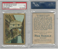 T99 ATC, Sights & Scenes, 1911, Bridge of Sighs, PSA 3 VG