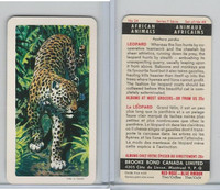 FC34-7 Brook Bond, African Animals, 1964, #24 Leopard