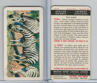 FC34-7 Brook Bond, African Animals, 1964, #30 Zebra