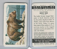 FC34-3 Brook Bond, Animals North America, 1960, #2 Grizzly Bear