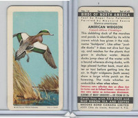 FC34-5 Brook Bond, Birds North America, 1962, #14 American Widgeon