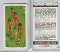 FC34-18 Brook Bond, Indians of Canada, 1974, #15 Education