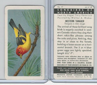 FC34-1 Brook Bond, Songbirds North America, 1959, #17 Western Tanager