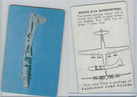 F270-1 Carnation Corn Flakes, Aircraft Recognition, 1952, Boeing B-29