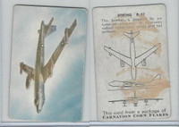 F270-1 Carnation Corn Flakes, Aircraft Recognition, 1952, Boeing B-47
