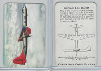 F270-1 Carnation Corn Flakes, Aircraft Recognition, 1952, Convair B-36 Bomber