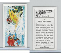 P0-0 Primrose Confectionery, Superman, 1967, #18 Speed Boat