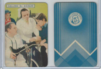 1939 Film Fantasy Card Game, Calling Dr. Kildare, (A)