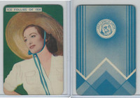 1939 Film Fantasy Card Game, Ice Follies, Joan Crawford, James Stewart (E)