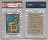 T44 Mogul, Birthday Horoscopes, 1910,  February, PSA 2 MK Good
