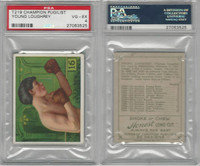 T218 Mecca/Hassan, Champions, 1910, Young Loughrey, Boxer, PSA 4 VGEX