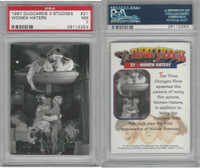 1997 Duocards, Three Stooges, #21 Women Haters, PSA 7 NM