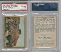 T99 ATC, Sights & Scenes, 1911, Acropolis at Athens, PSA 4 VGEX