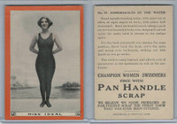 T221 Pan Handle Scrap, Champion Women Swimmers, 1910, #12 Miss Ideal