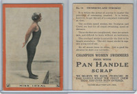 T221 Pan Handle Scrap, Champion Women Swimmers, 1910, #14 Miss Ideal